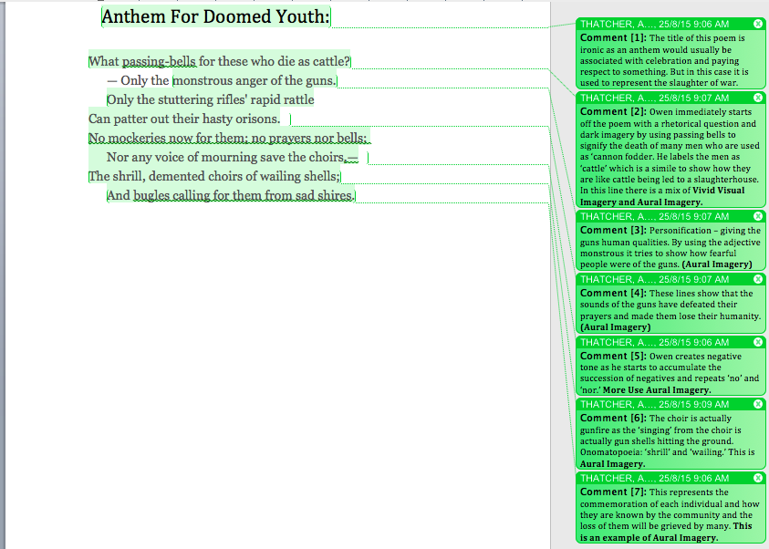 anthem for doomed youth essays Anthem doomed youth wilfred owen essays - anthem for doomed youth by wilfred owen.